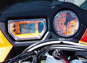 KTM 950 Adventure S Cockpit