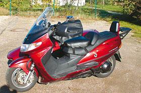 Suzuki Burgman 400 Mobec Gipsy Gespann