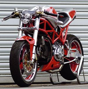 Ducati Monster 1000 Umbau