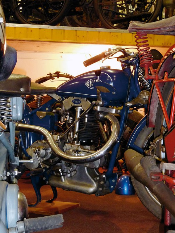 Motorradmuseum Fritz Bleckwehl - Gilera
