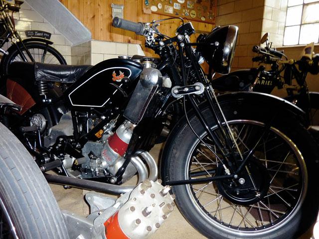 Motorradmuseum Fritz Bleckwehl - Scott