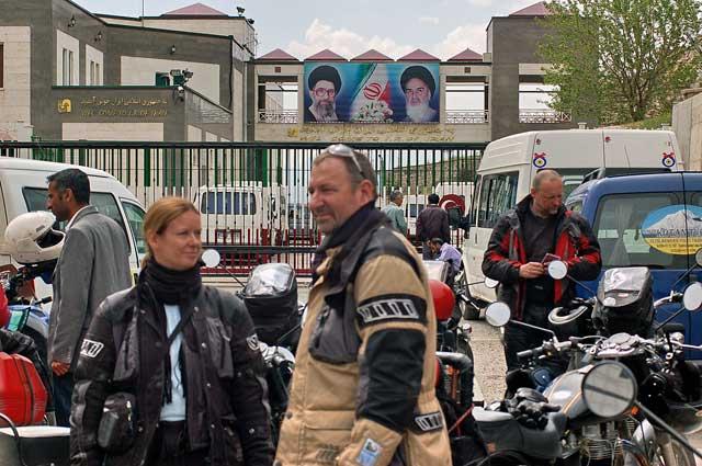 Motorradreise_Indien Grenze zum Iran