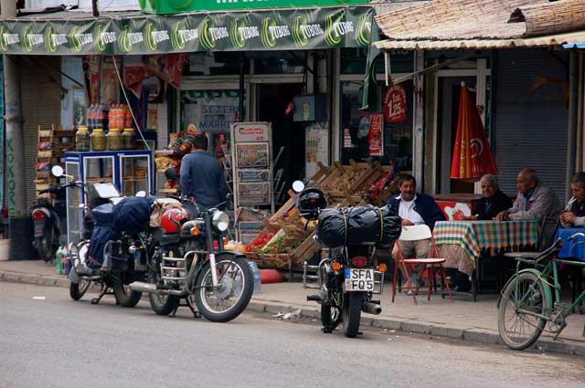 Motorradreise_Indien Teepause