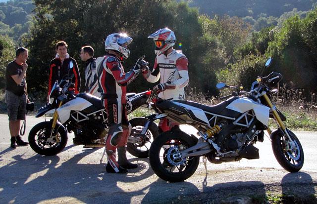 Aprilia Dorsoduro 1200 Modell 2011