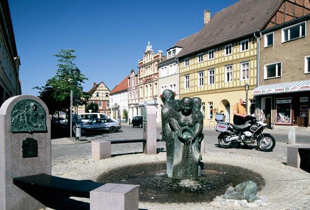 Brunnen in Kyritz