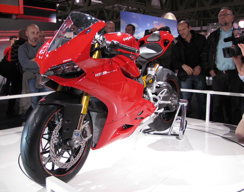 Panigale in Mailand, EICMA 2011