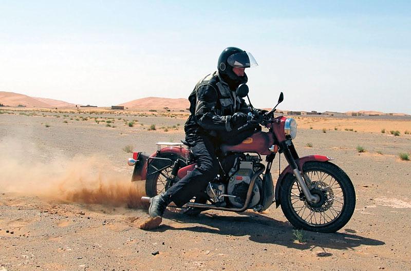 Grenzen der Sommer - Enfield Diesel in Marokko