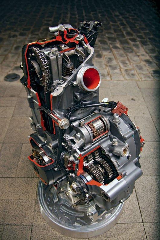 KTM 690 Duke Modell 2012 Motor