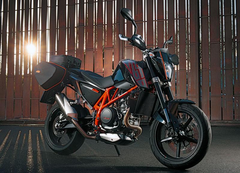 KTM 690 Duke Modell 2012 Vollausstattung