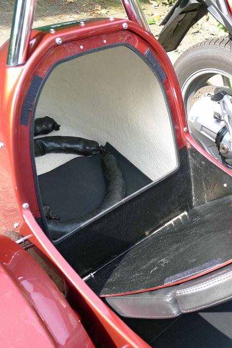 TripTeq Fox BMW R 1150 R Gespann Kofferraum