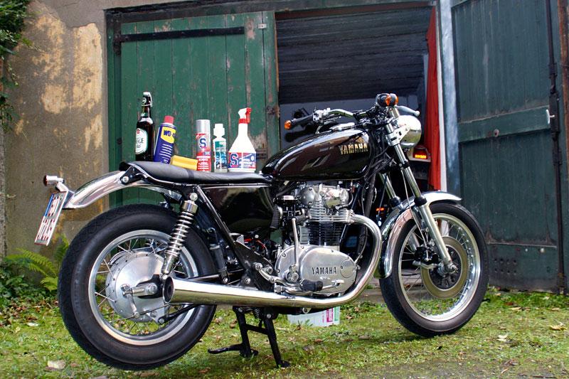 Motorrad Winterlager
