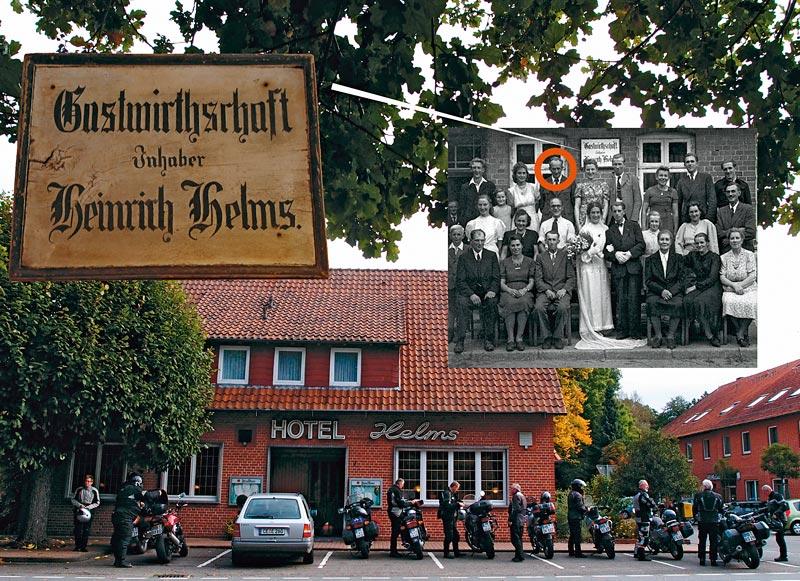 Eichmann vor Hotel Helms