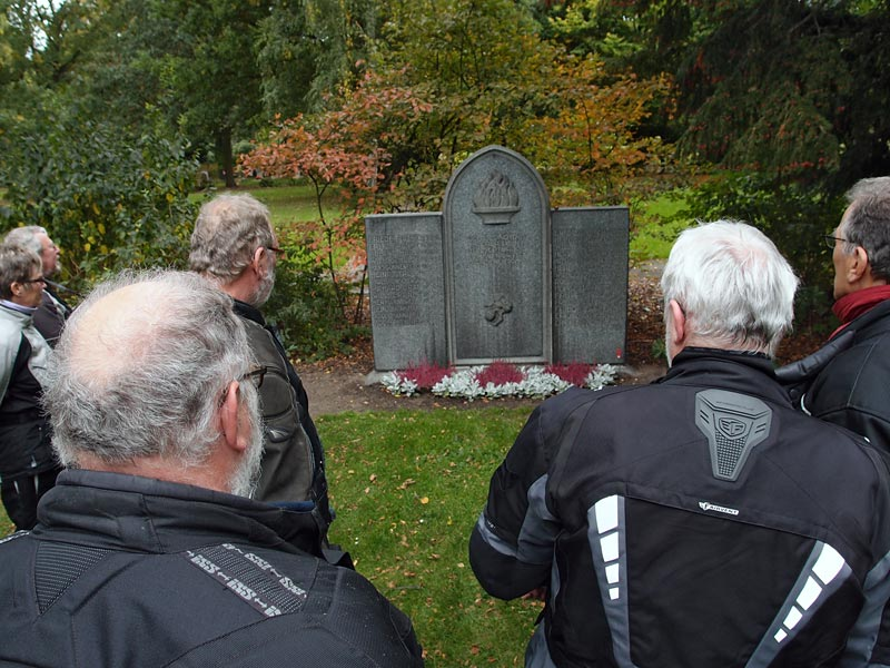 Gedenkstein für Hartmann-Opfer