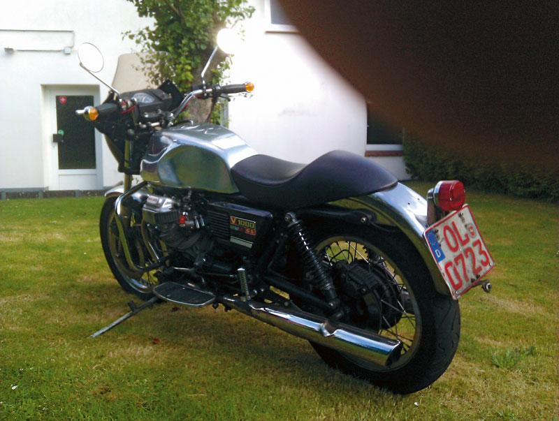 Moto Guzzi V1000 G5 Heck
