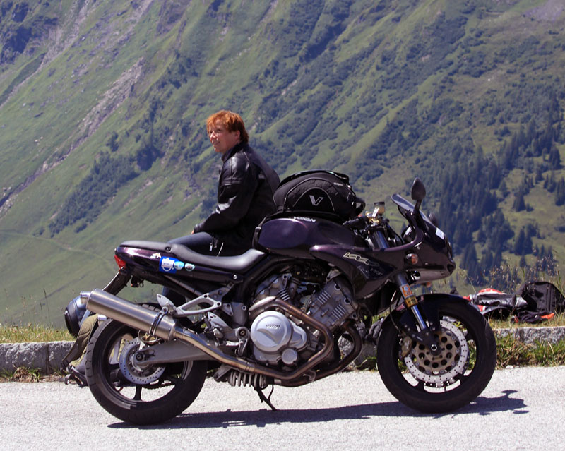 Voxan in den Alpen