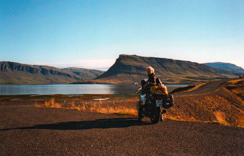 Zephyr auf Island