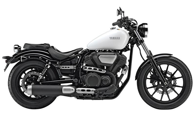 Yamaha XV 950 ohne R gibts in schwarz und weiß