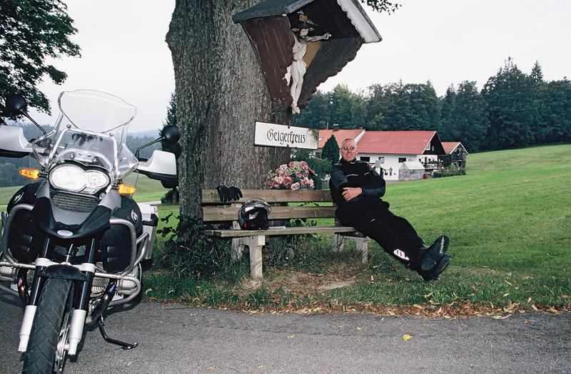 Gemütlicher Rastplatz im Dreiländereck Tschechien – Österreich – Deutschland