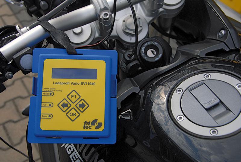 Batterie im Winter frisch halten