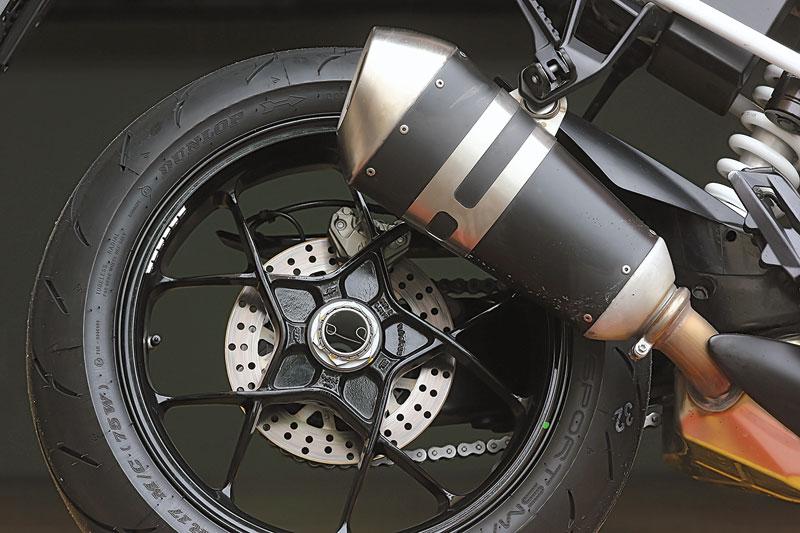 KTM 1290 Super Duke Hinterrad