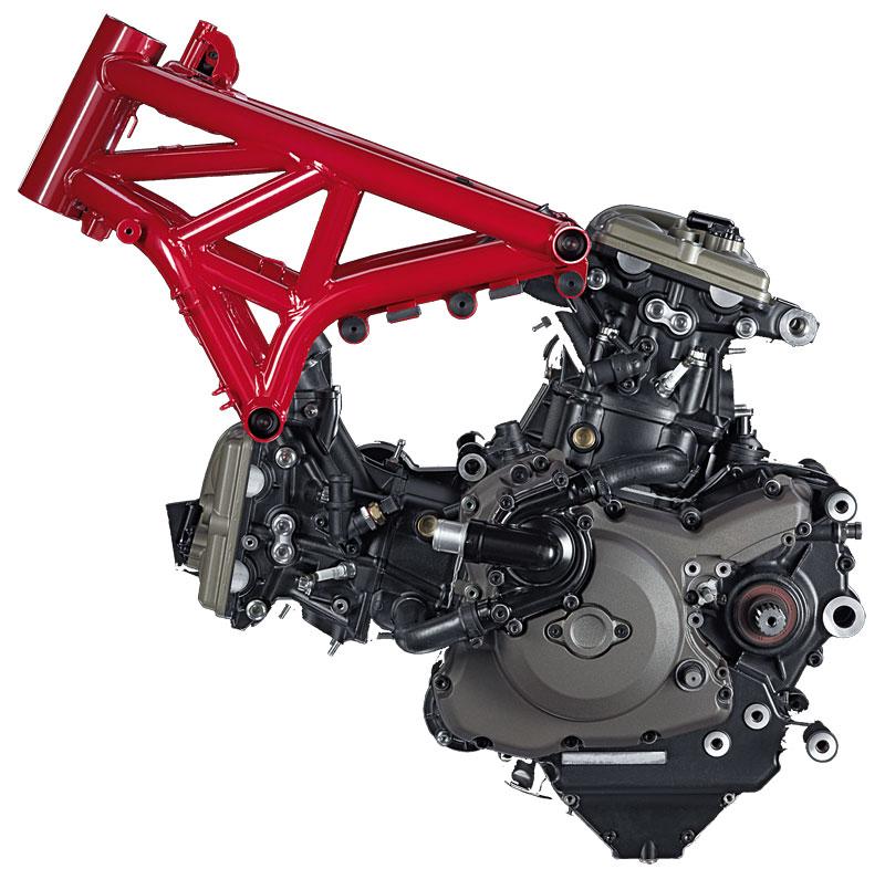 Ducati-Monster-1200S-Motor-Rahmen