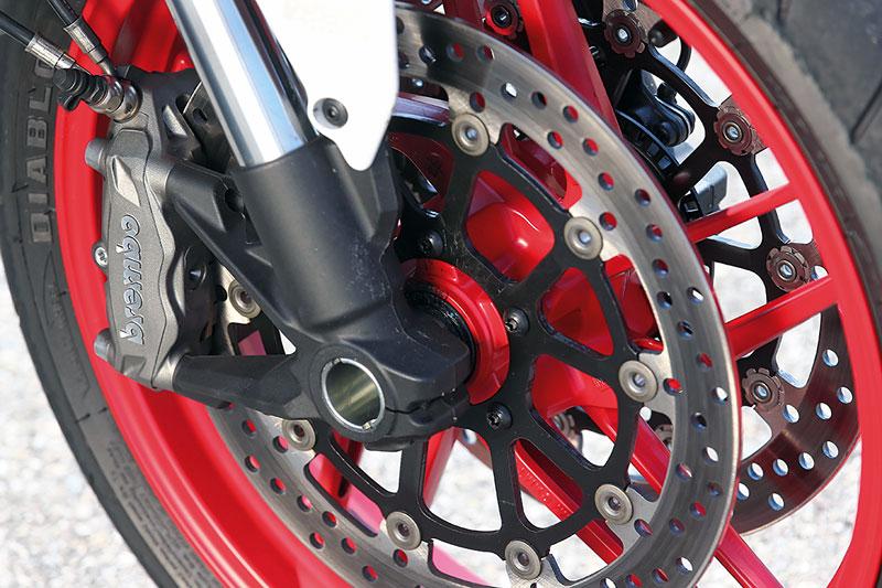 Ducati Monster 821 Bremse