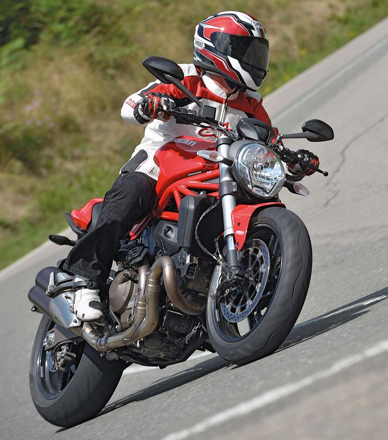 Ducati Monster 821 Front