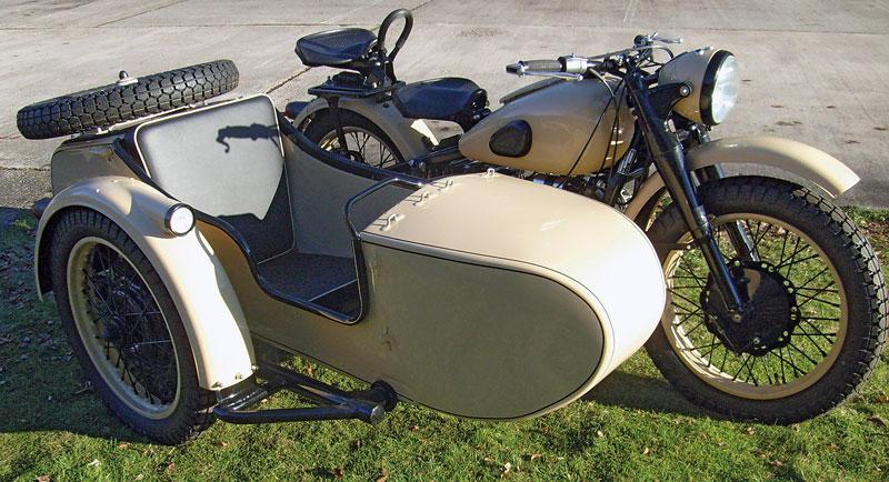 Ural M72 Gespann