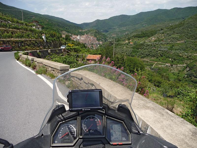 Aprilia-Caponord-Cockpit