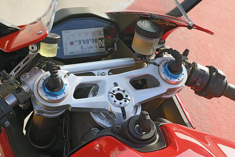 Ducati 1299 Panigale Cockpit