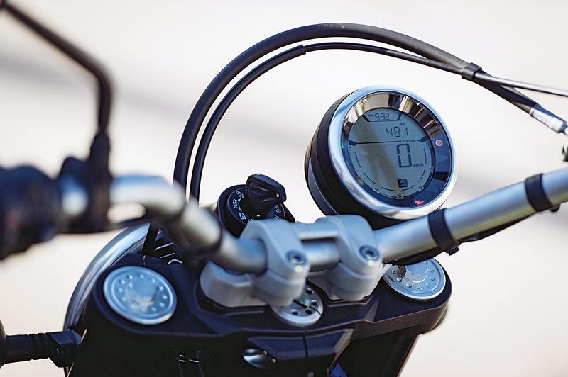 Ducati Scrambler Cockpit
