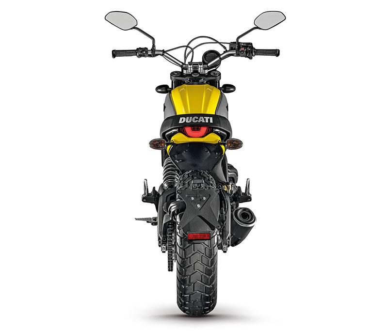 Ducati Scrambler Heck