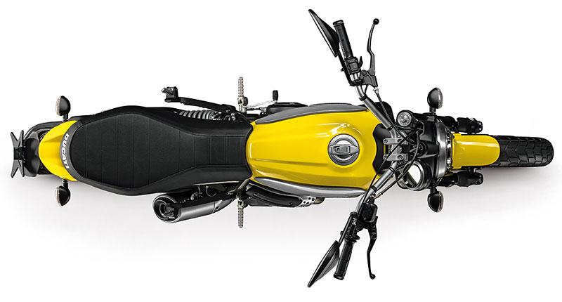 Ducati Scrambler von oben