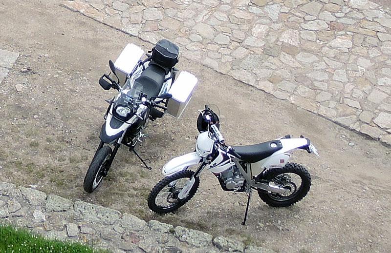 AJP PR BMW Sertao Vergleich