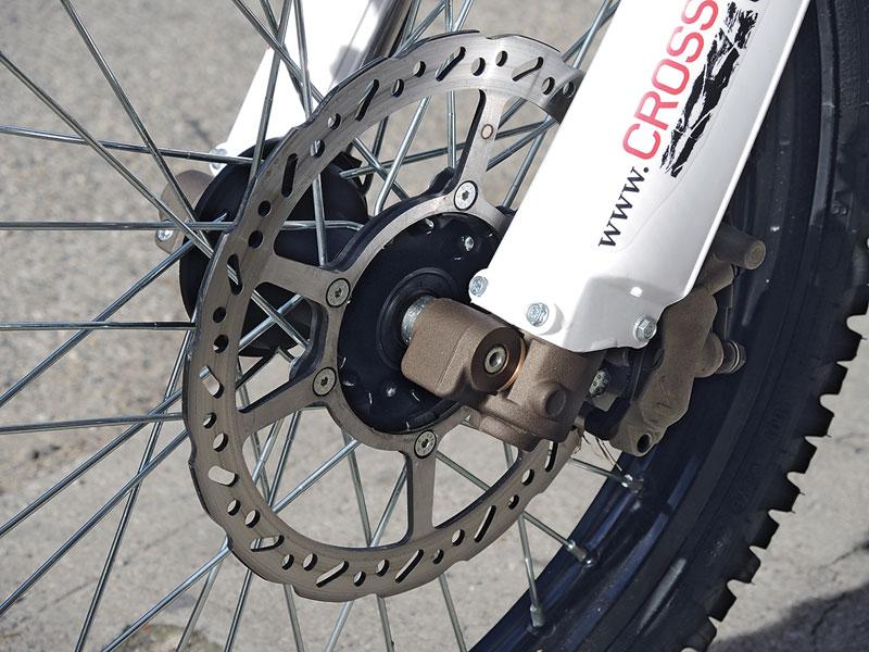 AJP PR4 Bremsscheiben wie am Mountainbike