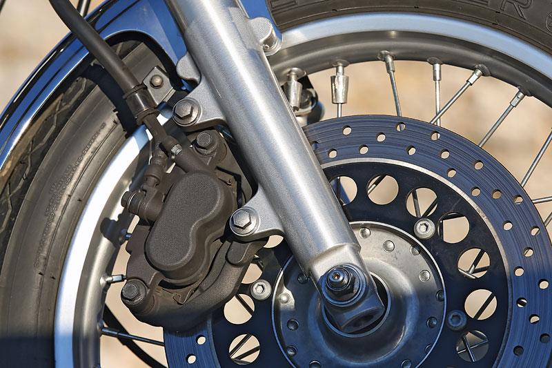 Yamaha SR400 Bremse