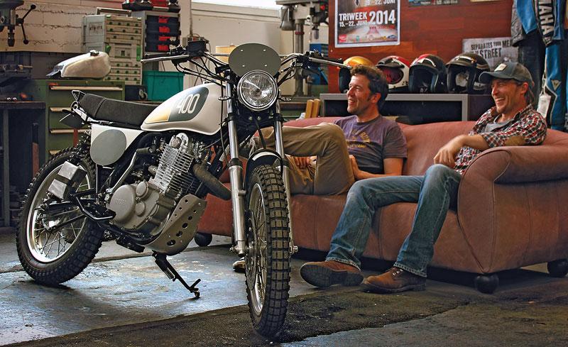 Yamaha SR400 Yard buildt