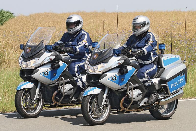 BMW R 900 RT Polizei 1