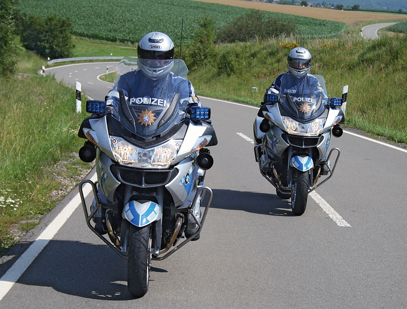 BMW R 900 RT Polizei Front