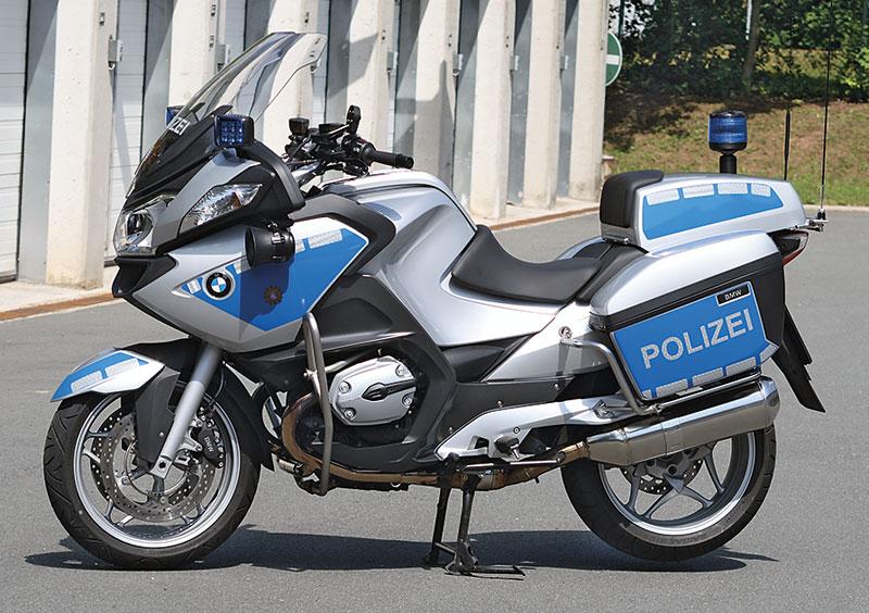 BMW R 900 RT Polizei links