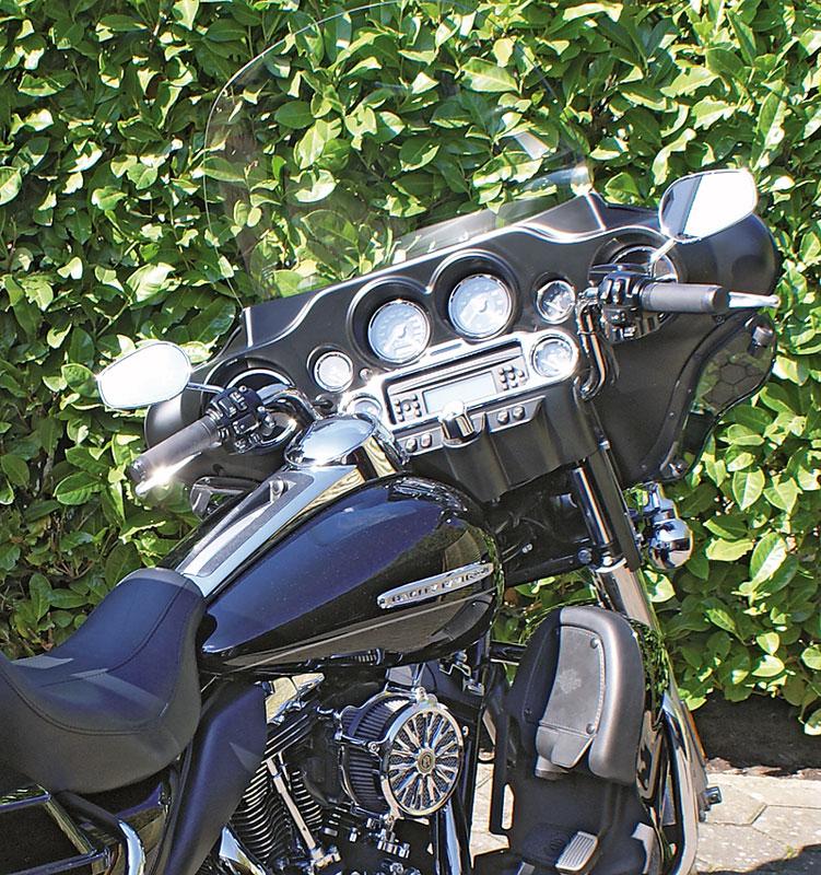 Harley Davidson Electra Glide Cockpit