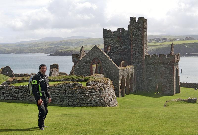 Ein Castle an der Westseite