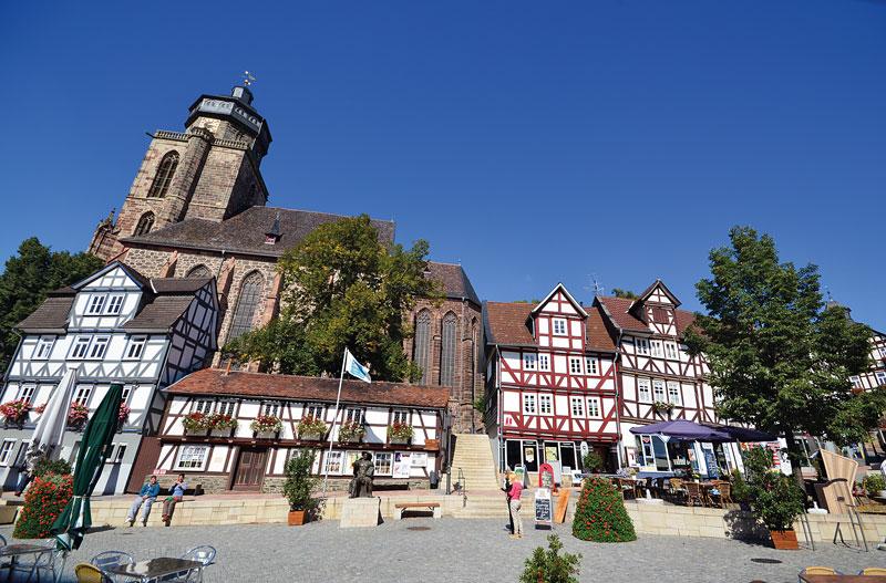 Homberg Markt Kirche