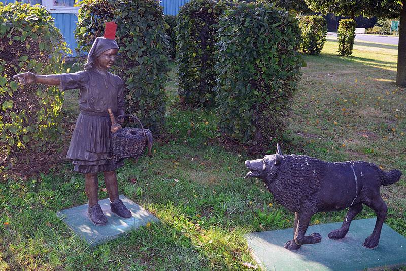 Rotkaeppchen und der Wolf