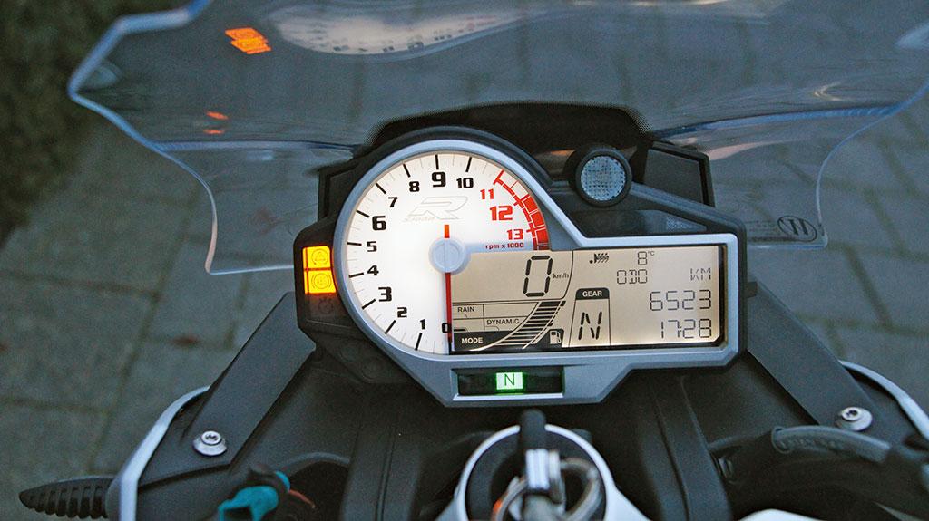 BMW S1000R Cockpit