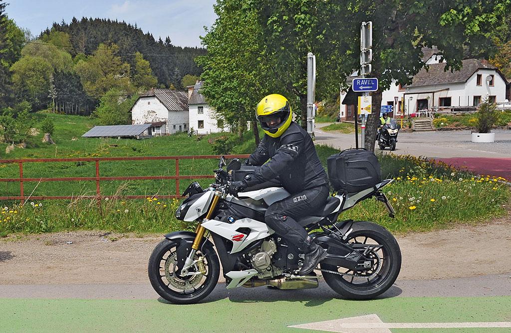 BMW S1000R Urlaub