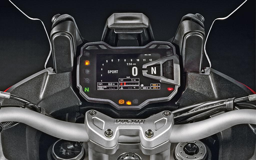 Ducati Multistrada 1200 S Modell 2015 Cockpit