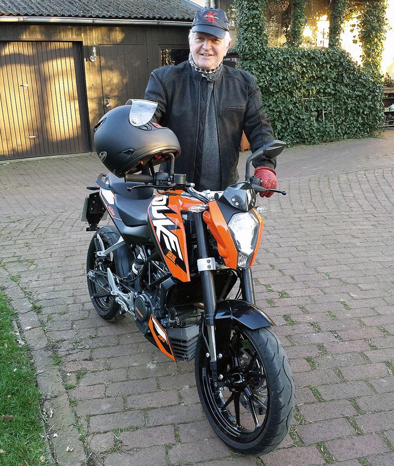 Abgespeckt KTM Duke 200