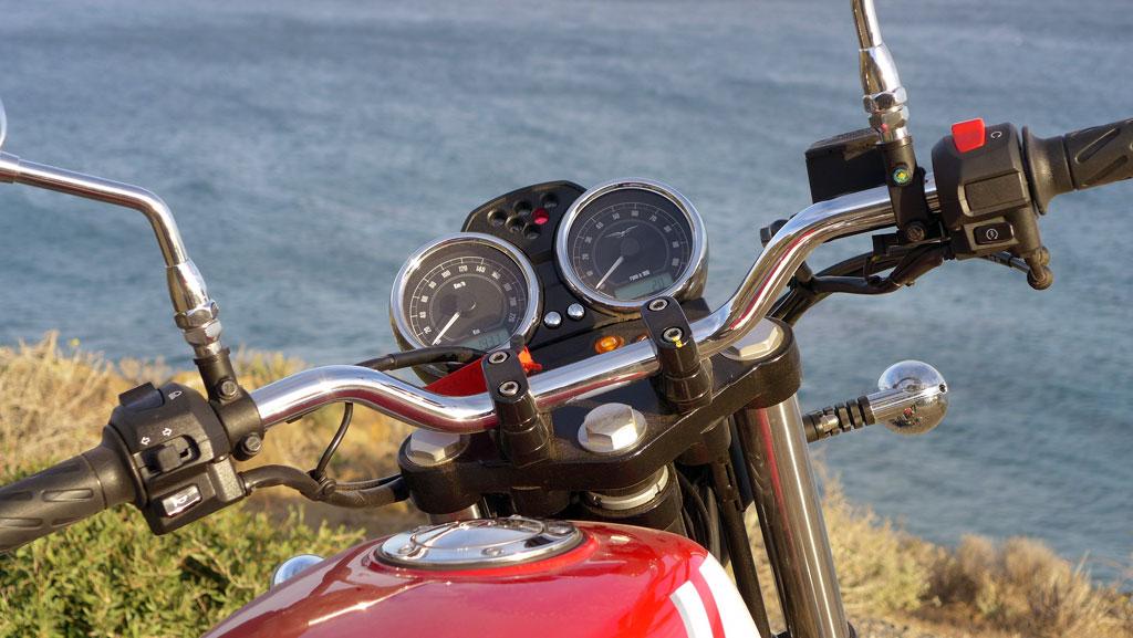 Moto Guzzi V7 II ABS Spezial Cockpit