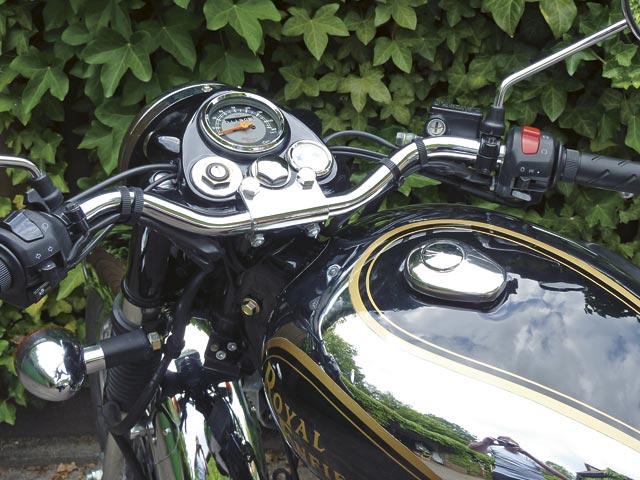 Royal Enfield Bullet 500 de Luxe EFI